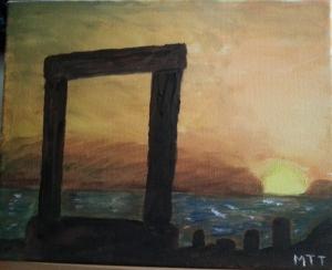 amanecer islas griegas