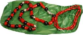 coral rojo y onix y ccoral rojo